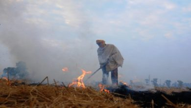 Photo of 300 Farmers Booked For Stubble Burning In UP