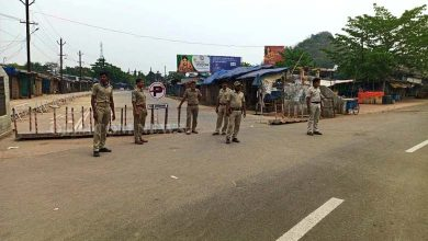 Photo of Ganjam District Administration Seals Khurda Border