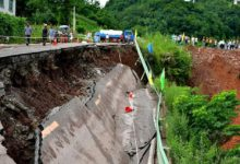 Photo of Landslide Buries Nine In China