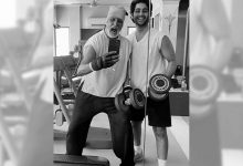 Photo of Big B Is 91 Kg And 'Off To The Gym'