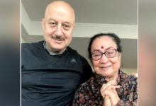 Photo of Anupam Kher's Mother, Family Members Test COVID-19 Positive