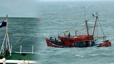 Photo of Indian Coast Guard Rescues 15 Fishermen In Northern Bay Of Bengal