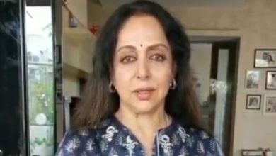 Photo of Hema Malini Quashes Rumours Of Ill Health In Video Post