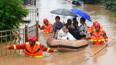 Photo of China Raises Flood Response To 2nd-Highest Level