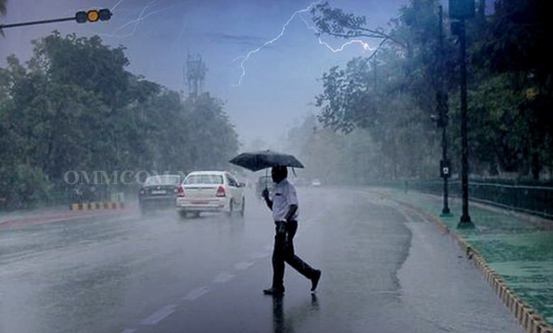 IMD Issues Thunderstorm, Rainfall Warning For 7 Districts Across Odisha