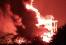 Photo of 1 Killed In Vizag Pharma City Fire