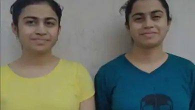 Photo of Twin Sisters Match Scores In Class XII Board Exams