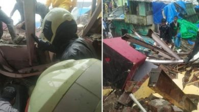 Photo of Mumbai Buildings Crash: 2 Rescued
