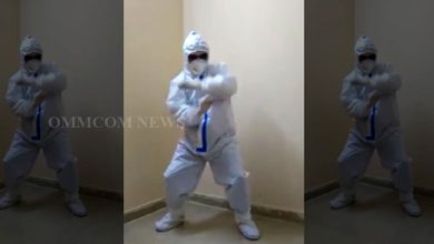 Photo of Watch: Odisha Doctor Dances In PPE Kit, Instills Positivity