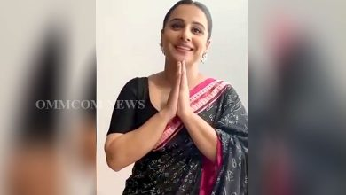 Photo of Vidya Balan Dons Sambalpuri Saree For Shakuntala Devi Promotions