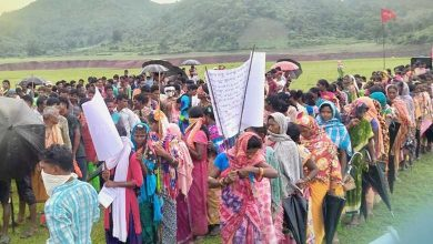 Photo of Odisha: Maoists Hold Praja Meli  During Martyrs' Week In Malkangiri's Swabhiman Anchal
