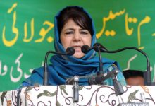 Photo of J&K Converted Into Open Jail: Mehbooba Mufti
