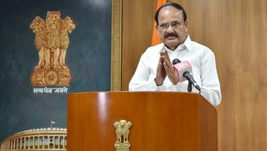Photo of Naidu Expresses Concern Over Growing Pendency Of Cases