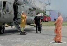 Photo of 'Hindu Hriday Samrat' Modi Reaches Ayodhya After Nearly 3 Decades