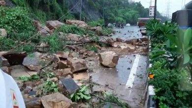 Photo of Landslides Disrupt Road, Rail Traffic To And From Goa