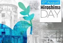 Photo of Naveen Appeals For A Nuclear Weapon Free World On Hiroshima Day