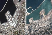 Photo of Satellite Images Show Scale Of Destruction After Beirut Explosions