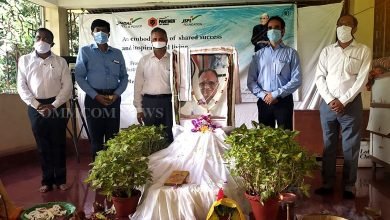 Photo of JSPL Barbil Observes 90th Birth Anniversary Of Group Founder OP Jindal