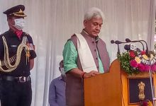 Photo of Manoj Sinha Takes Over As J&K LG