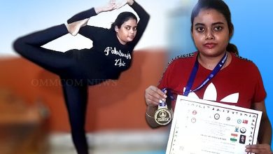 Photo of Odia Girl Bags Gold At International Yoga Competition