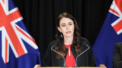 Photo of Ahead Of Polls, NZ Premier Visits Temple In Auckland