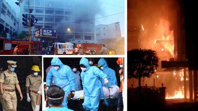 Photo of 10 Dead In Andhra Covid Centre Fire, Govt Sets Up Probe Panel