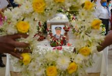 Photo of Capt Deepak Sathe Cremated With Full State Honours