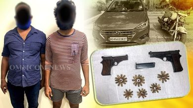 Photo of Odisha: Dhal Samanta Gang Members Nabbed, Two Pistols & 69 Live Ammunition Seized