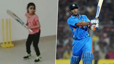 Photo of 'Baby Girl Version Of Dhoni,' Fans Gush Over 7-Year-Old's Helicopter Shot