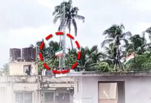 Photo of Independence Day Goof Ups: Tricolour Unfurled Upside Down In Bhubaneswar