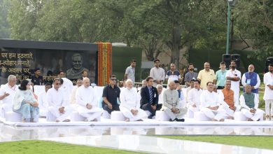 Photo of Modi, BJP Leaders Pay Tributes On Vajpayee's Death Anniversary