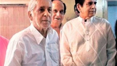 Photo of Dilip Kumar's Youngest Brother Aslam Khan Passes Away, Had Tested Covid Positive