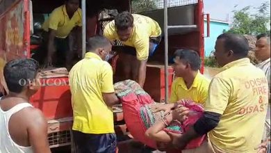 Photo of Fire Personnel Continue Flood Rescue Operations, 106 Teams Deployed Across Odisha