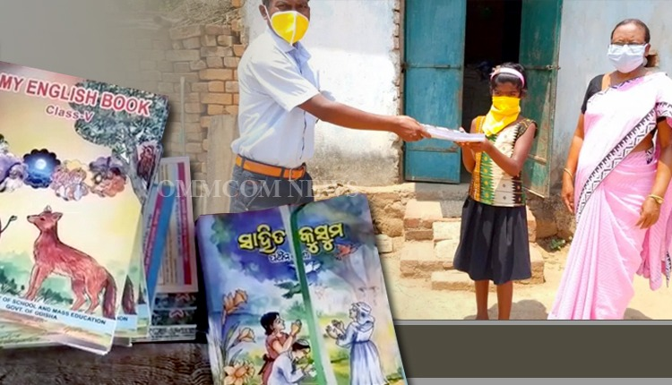 Odisha Fares Better In Education Delivery After Ensuring Book Distribution In Pandemic