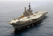 Photo of Decommissioned Aircraft Carrier 'Viraat' Sails Into Oblivion