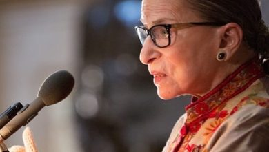 Photo of Trump Orders Flags At Half-Staff To Honour Late Justice Ginsburg