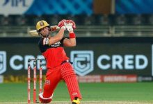 Photo of 50s From Padikkal, De Villiers Power RCB To 163 Against SRH