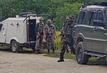 Photo of Encounter On Between Terrorists, Security Forces In Kashmir's Budgam