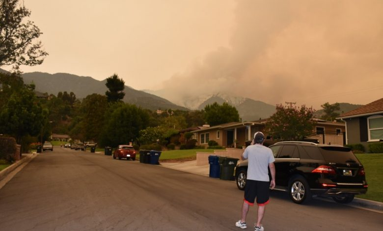 Wildfire near LA grows to over 100,000 acres