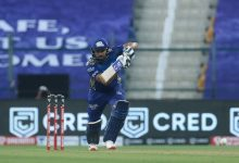 Photo of Rohit's 80 Takes MI To 195/5 Against KKR