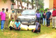 Photo of Cuttack Excise Sleuths Nab 3 Ganja Smugglers, Vehicle With Contraband Seized