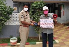 Photo of Telangana Teacher Who Turned Covid Hero