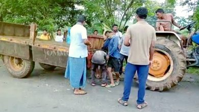 Photo of Tractor Turns Turtle In Rayagada, One Labourer Killed, 3 Critical