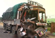 Photo of Road Accident In Ganjam: 2 Killed, 1 Critical As Truck Crashes Into Another