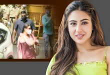 Photo of Drug Case: Sara Ali Khan Arrives At NCB Office After Deepika & Shraddha