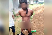Photo of Inhumane: Watch How Village Kangaroo Court Punishing Youth For House Trespassing