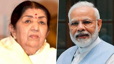Photo of PM Speaks To Lata Mangeshkar On Her Birthday