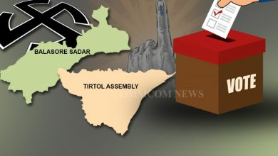 Photo of Balasore Sadar & Tirtol Assembly By-Poll On Nov 3