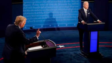 Photo of Will You Shut Up, Man: Personal Attacks Rule 1st Trump-Biden Debate