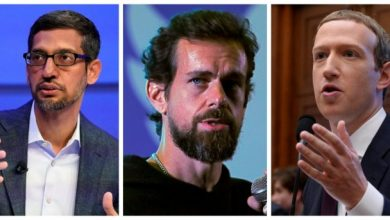 Photo of US Panel To Grill Facebook, Google, Twitter CEOs On Oct 28